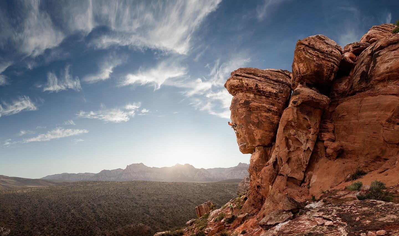 Rod Mclean - man rock climbing