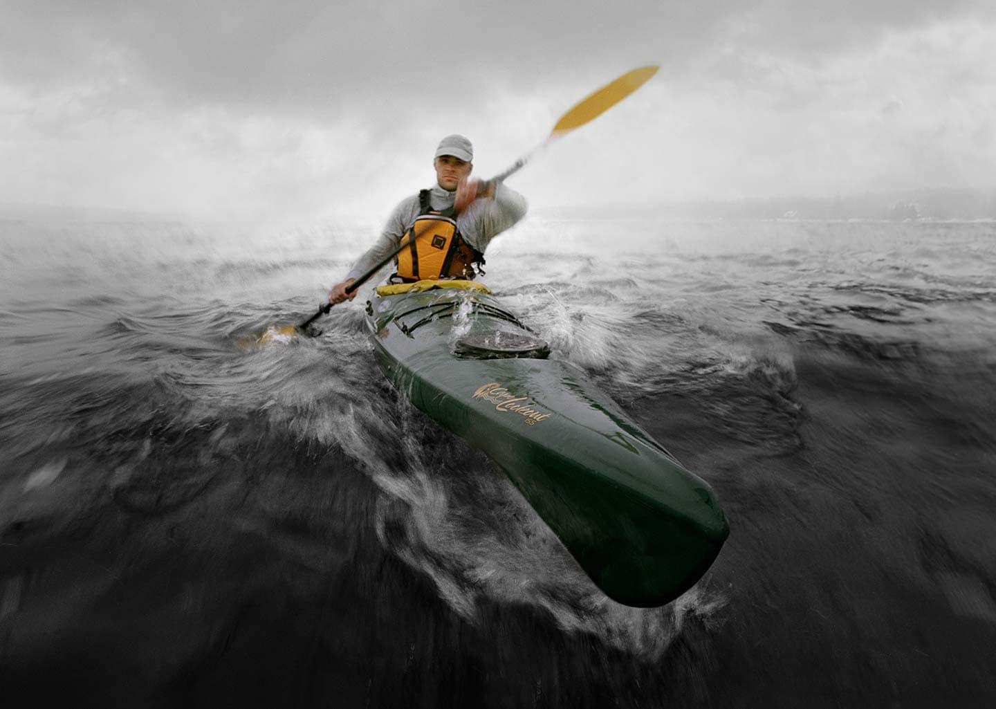 Rod Mclean - professional kayaking