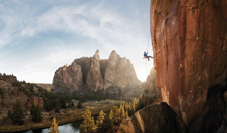 Rod Mclean - rock climbing