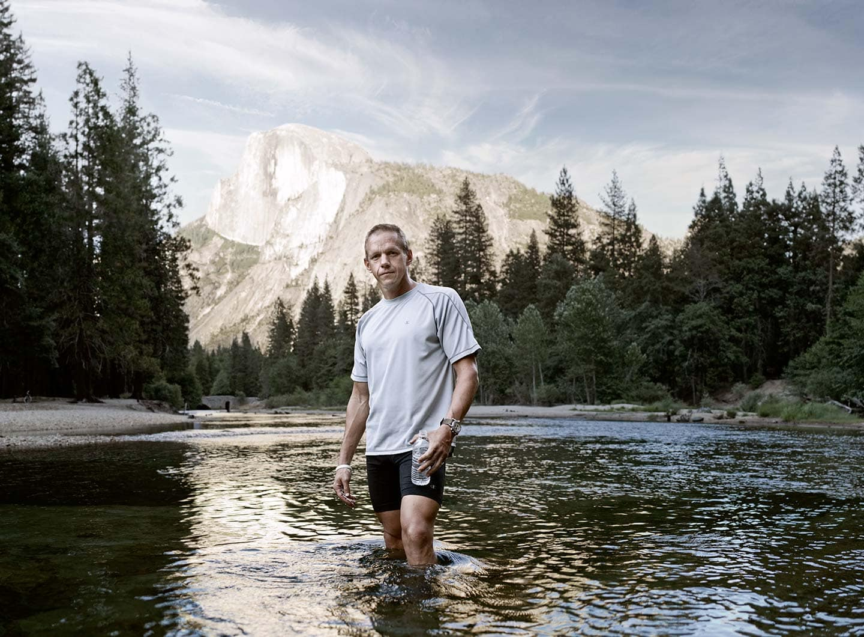 Rod Mclean - Charlie Engle hiking