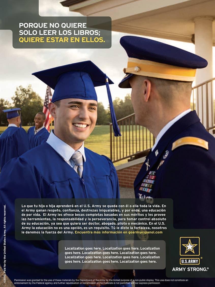 Rod Mclean - US army graduate