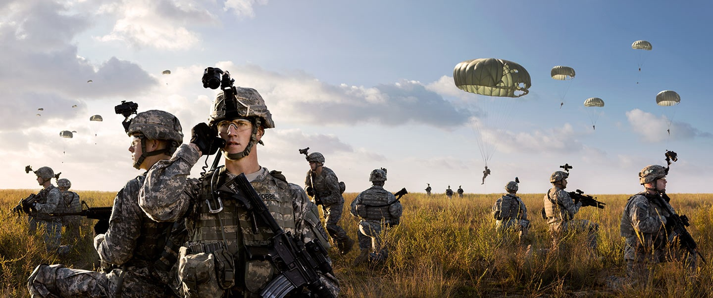 Rod Mclean - US army in the field