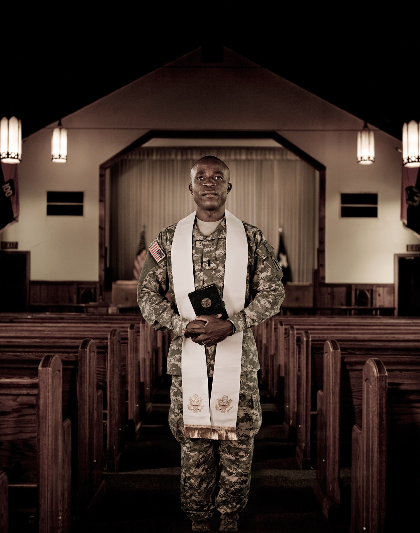 Rod Mclean - US army priest