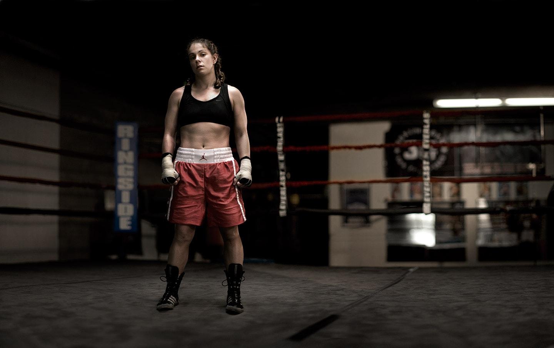 Rod Mclean - woman boxer