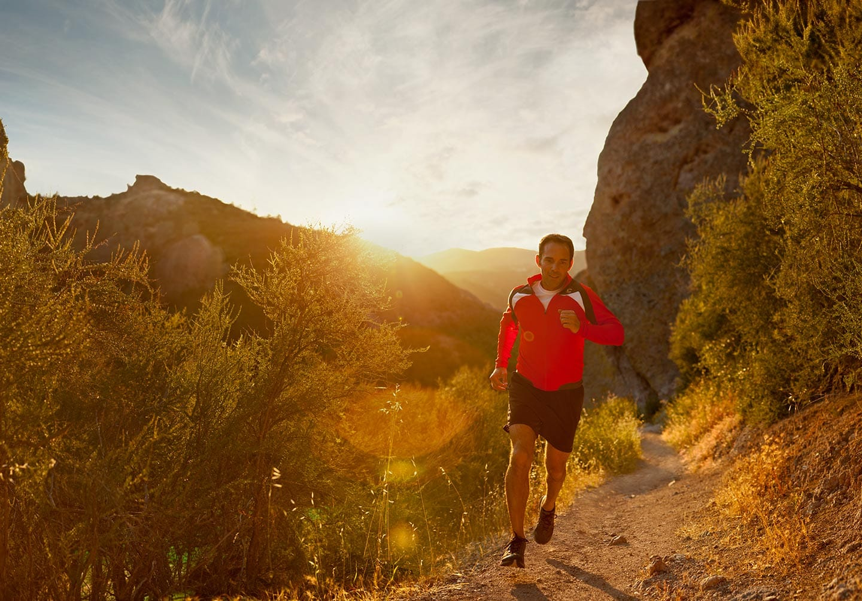 Rod Mclean - male runner