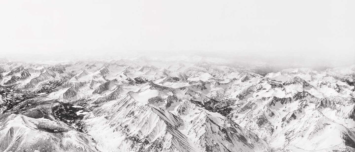 Rod Mclean - view of snowy mountain