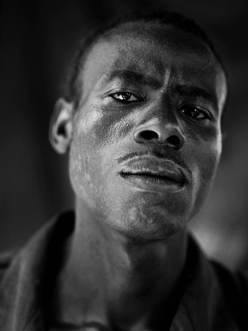 Rod Mclean - portrait of african man