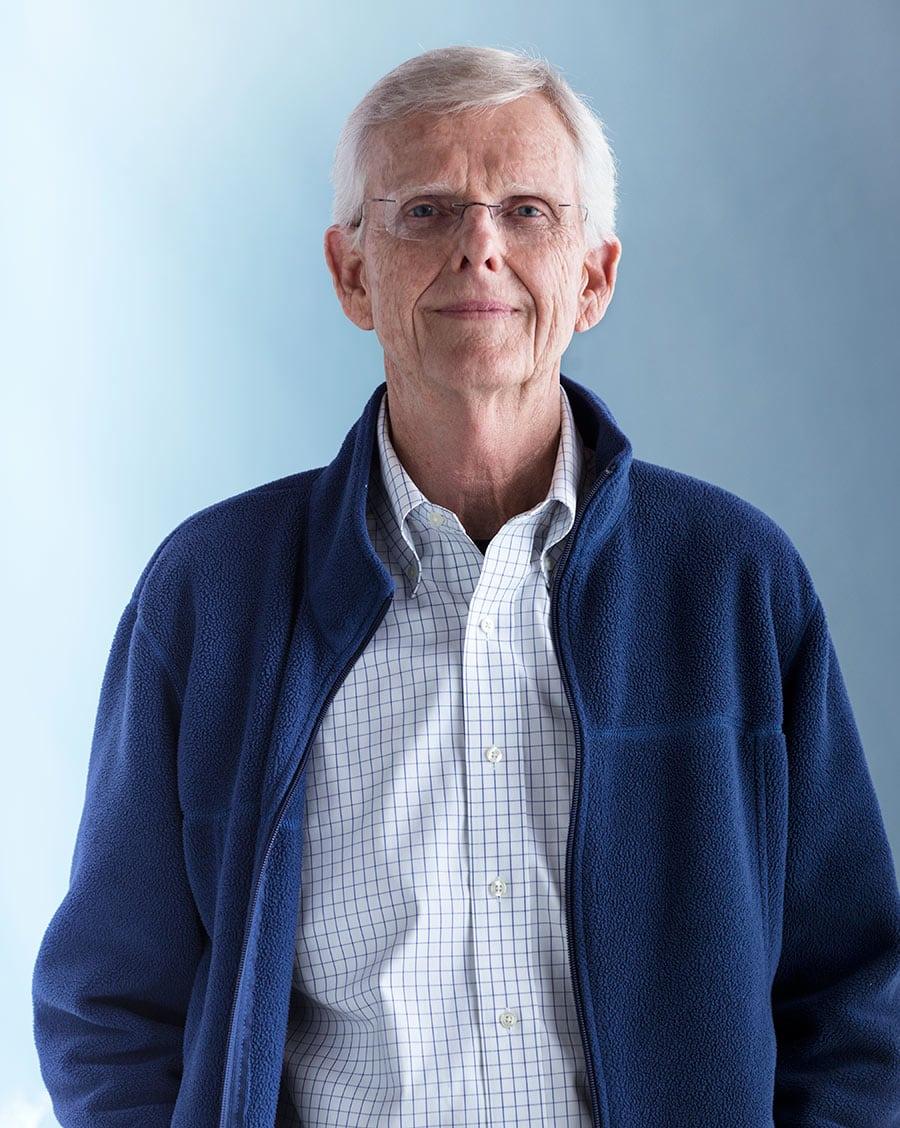 Rod Mclean - portrait of elderly man