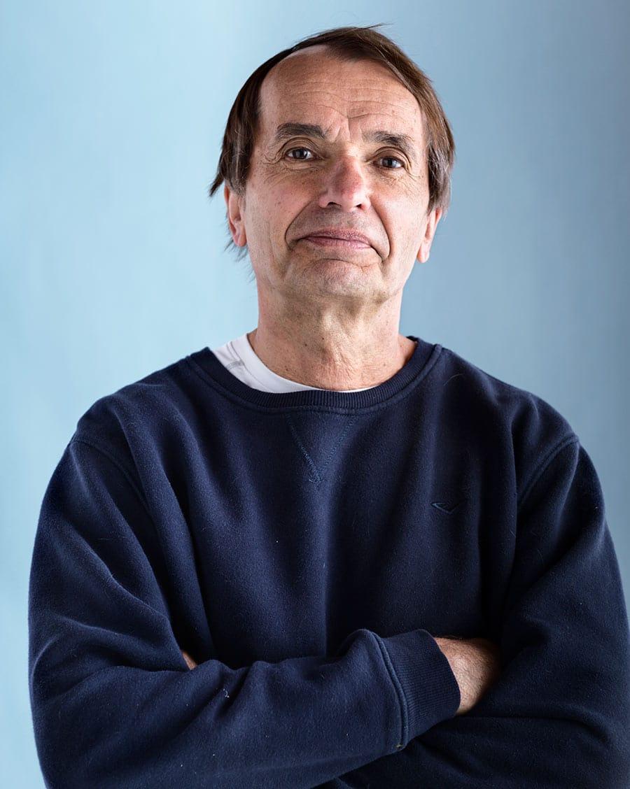 Rod Mclean - portrait of middle age man