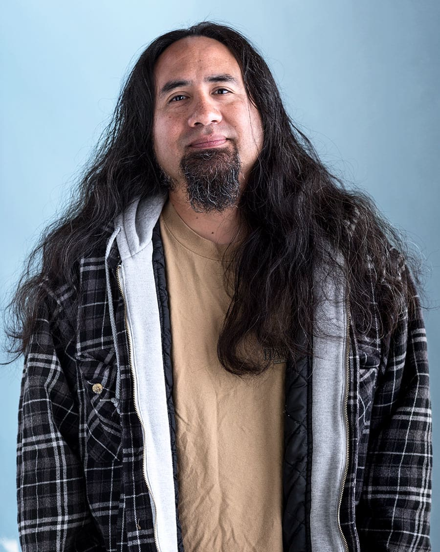 Rod Mclean - portrait of native american man
