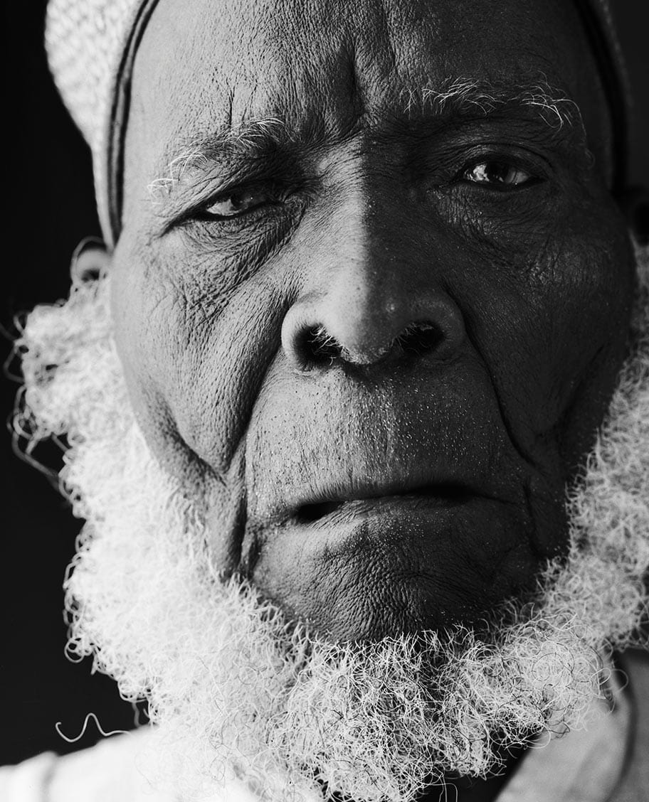 Rod Mclean - portrait of old african man