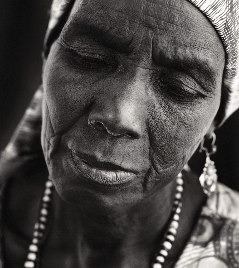 Rod Mclean - portrait of old african woman