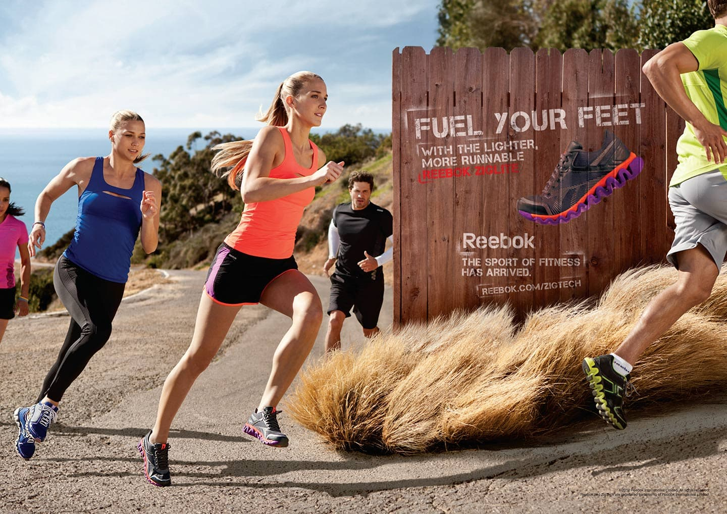Outdoor Stairs Run Men Women Reebok Advertisment Fuel Your Feet