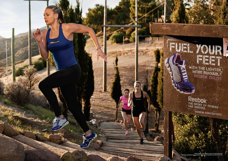 Outdoor Stairs Run Women Reebok Advertisment Fuel Your Feet